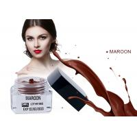 Buy cheap Microblading Ink Maroom Disposable Eyebrow Pens Pigmentation Cream from wholesalers