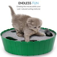 Buy cheap Electric Interactive Motion Cat Toy Automatic Rotating Teaser Pop Play Hide Seek Hunt from wholesalers