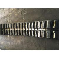 Buy cheap Low Noise Excavator Rubber Tracks Less Vibration Extreme Durability product
