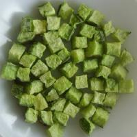Wholesale Green Healthy Freeze Dried Cucumber Dice Vegetables Online Freeze Dried Food from china suppliers