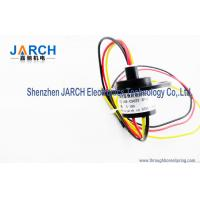 High Precision Wind Turbine Slip Ring Industrial With 22mm Outer Size , Lower Contact Resistance Manufactures