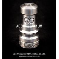 Buy cheap wholesale nail supplies universal domeless titanium nail with GR2 14mm/18mm from wholesalers