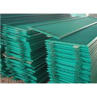 Buy cheap PVC Spraying Stamping Aluminum Expanded Metal Mesh 0.5 Thickness For Security from wholesalers