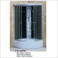Buy cheap Chrom Profile Complete Shower Room Cabin with Six Jets / Nozzles ISO9001 from wholesalers