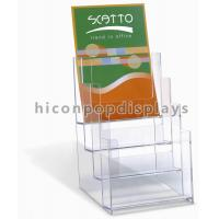 Buy cheap Clear Acrylic Retail Store Fixtures Display Stands Counter Top from wholesalers
