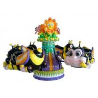 Buy cheap Funny Bee Rotating Amusement Game Machine Kiddie Ride Carousel with Fiberglass from wholesalers