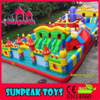 Buy cheap PG-209 Giant Rental Used Commercial Playground Equipment For Sale from wholesalers