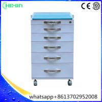 Buy cheap Formaldehyde-free anticorrosive mobile dental cabinet and dental cart with 6 drawers for luxury clinic from wholesalers