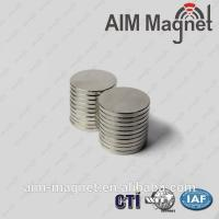 Buy cheap High quality neodymium magnet D6 x 1mm from wholesalers