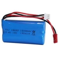 Buy cheap 1000 Times 11.1Wh 1500mAh 7.4V Liion Battery Pack from wholesalers