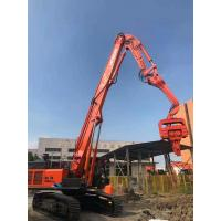 Buy cheap Low Noise Vibration Pile Driver Compact Structure Environmental Friendly from wholesalers