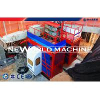 Wholesale Red 4000kg 200m Material Hoist Electric Motor With Double Cage from china suppliers