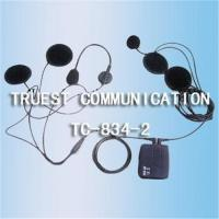 Buy cheap TC-834-2 Wired Earphone for Motorcycle Intercom, Can be Fixed on Helmet from wholesalers