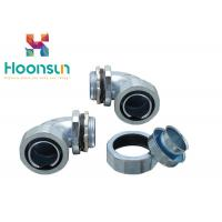 Buy cheap 90 Degree Flexible Conduit Connector Standard Size Shipping Flex Conduit Fittings from wholesalers