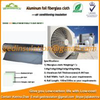 Buy cheap single side aluminum foil fiberglass cloth for air conditioner insulate from wholesalers