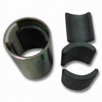 Buy cheap Arc Ceramic Ferrite Magnet, Suitable for Motor Bikes and Stepping Motors, TS16949 Certified from wholesalers