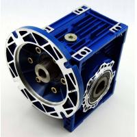Buy cheap RV/NMRV/NMRW 030 series worm gear box with flange shaft mounted speed reducer reductor from wholesalers