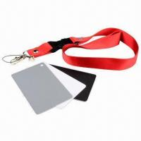 Buy cheap 3-in-1 Digital Gray Card White Black 18% Gray Color White Balance Strap product