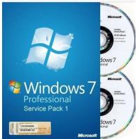 Buy cheap Genuine Windows 7 Professional Full Version With Retail Box , Microsoft Windows Retail from wholesalers