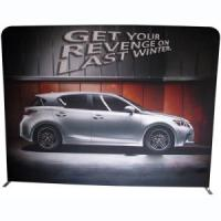 Buy cheap 8ft Straight Fabric Display Wall (Graphics Included) from wholesalers