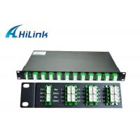 Buy cheap Optics 40 Channel DWDM Mux Demux AAWG Modules 100Ghz C21-C60 For Data Center from wholesalers