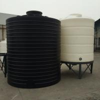 Buy cheap PT 10000 Roto molding large Non potable Round Polyethylene bulk water storage tank from wholesalers