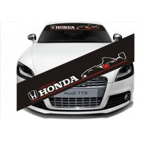 Front And Rear  Windshield Sticker For Honda Auto Accessories   Car Sticker   Front  Windshield StickerC