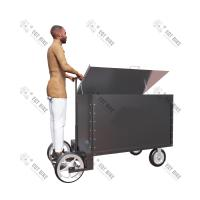 Buy cheap All Stainless Steel Cargo Trailers Electric Family Tricycle For Cargo CE Approval from wholesalers