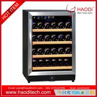 Buy cheap 54-Bottle Dual Zone Wine Cooler Built-In with Compressor Stainless Steel Doors from wholesalers