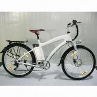 Buy cheap 26-inch Mountain Electric Bike with Lithium Battery and Aluminum Frame from wholesalers