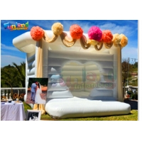 Buy cheap Inflatable Wedding Bouncy Castle For Rent from wholesalers