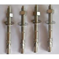 Buy cheap DIN ANSI JIS  Wedge Anchor Bolt 202 304 316 Stainless Steel Fasteners M6 - M33 from wholesalers