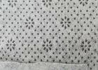 Buy cheap Anti Slip Non Woven Felt White Or Black Floral Dots Carpet Underfelt from wholesalers