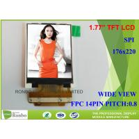 Buy cheap 1.77 Inch 128 * 160 Small LCD Screen Transmissive Type SPI Interface TM018FDZ83 from wholesalers