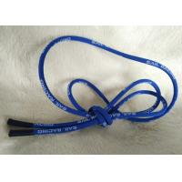 Buy cheap Soft / Matt Silicone Ending Zipper Cord With 2.5mm Cotton String from wholesalers