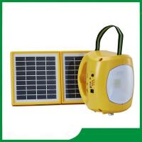 Buy cheap Led solar lantern, solar camping lantern brightness with mobile phone charger / 2pcs solar panel / 9pcs led lights from wholesalers