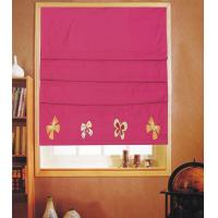 Buy cheap Blue Pleated Roman Windows Shades Blinds Blackout Waterproof Sunscreen from wholesalers