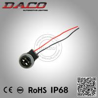 Buy cheap 3156 LED Light Bulb Socket Holder Wiring Harness 3156 Female Connector Headlight Bulb Adapter from wholesalers