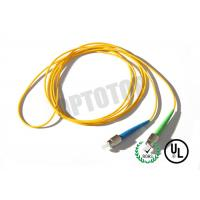 Buy cheap 1F 1.6MM Custom Fc Fiber Patch Cord OS2 With Yellow Jacket , 85447000 HS Code from wholesalers