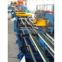 Buy cheap U-bending Freezer / Refrigerator Automated Assembly Line Roll Forming Lines from wholesalers