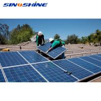 Buy cheap SINOSHIINE 10kw solar system on grid solar panel system 2kw-20kw with best price for home use from wholesalers