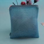 Buy cheap Label Logo Mesh Fabric Lingerie Socks Underwear Wash Bag from wholesalers