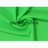 Buy cheap 4 Way Stretch Knee Support Sleeve Nylon Lycra Spandex Fabric Green Pure Color from wholesalers