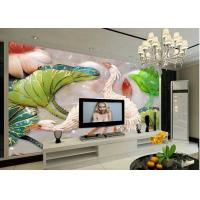 China Environmental Protection 3D Leather Wall Panels for TV Wall Decoration on sale