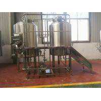 Buy cheap 300L Complete beer brewing system , Stainless Steel Commercial Beer Equipment from wholesalers