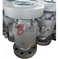 Buy cheap A105 Trunnion Fire Safe Ball Valve API6D CL1500LB Reduced Bore RB from wholesalers