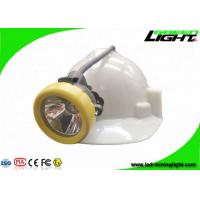 Buy cheap Rechargeable Mining Hard Hat Led Lights , Miners Cap Lamp Support USB Charger from wholesalers