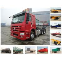 Buy cheap HOWO 6x4 10 wheels tractor truck (371hp/ one sleeper) from wholesalers