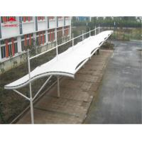 Buy cheap Flame Retardant Tensile Membrane Structures , PVDF Fabric Car Park Shed from wholesalers