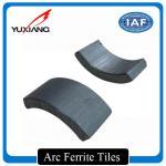 Buy cheap High Efficiency Arc Ferrite Magnet Segment Shape Ferrite Magnetic Tiles from wholesalers